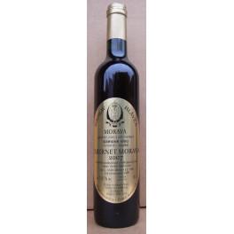 Cabernet Moravia slámové víno 2007