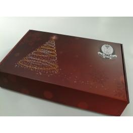Vánoční krabice na 6 lahví